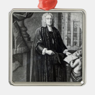 Jonathan Swift, engraved by Andrew Miller, 1743 Christmas Ornament