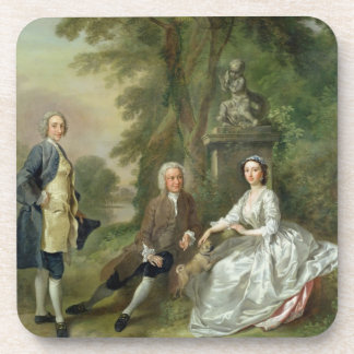 Jonathan Tyers (d.1767) and his Daughter, Elizabet Coasters