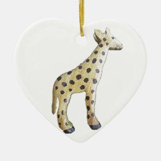 Jonathon Giraffe Christmas Ornament