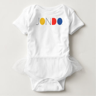 JONDO Ruffled Baby Body Suit Baby Bodysuit