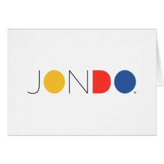 """JONDO Standard (5"""" x 7""""), Standard white envelopes Card"""