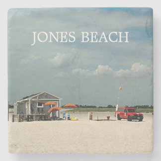 Jones Beach Umbrella Stand Stone Coaster