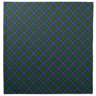 Jones Clan Tartan Designed Print Cloth Napkin