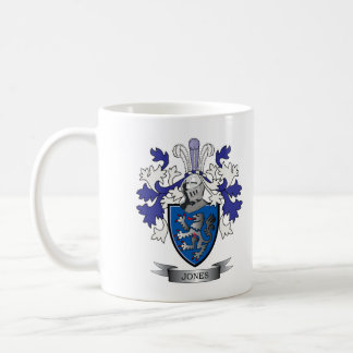 Jones Coat of Arms Coffee Mug