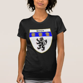 Jones Coat of Arms Family Crest Wales Tee Shirt