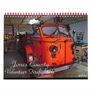 Jones County Fire Rescue 2017 Calendar