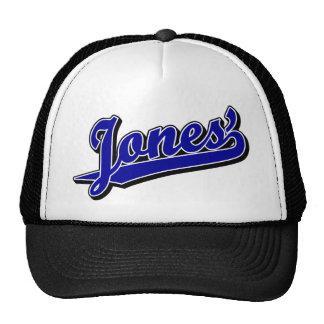 Jones' in Blue Cap