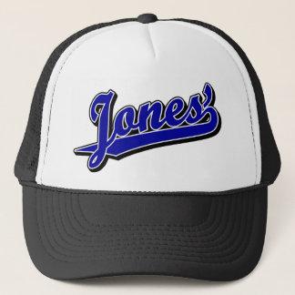 Jones' in Blue Trucker Hat