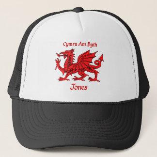 Jones Welsh Dragon Trucker Hat