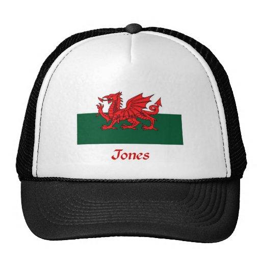 Jones Welsh Flag Mesh Hat