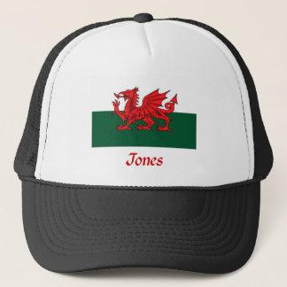 Jones Welsh Flag Trucker Hat
