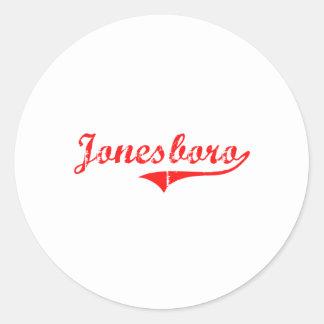Jonesboro Georgia Classic Design Stickers