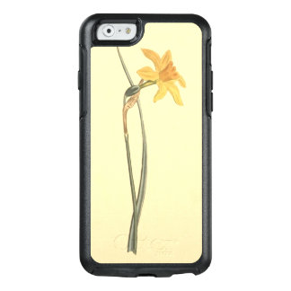Jonquil Daffodil Yellow Flower Illustration OtterBox iPhone 6/6s Case