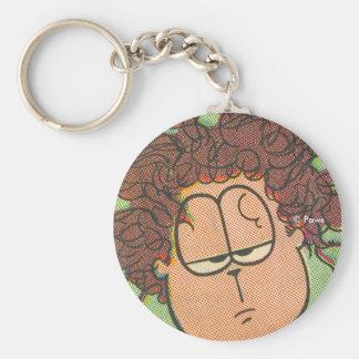Jon's Bad Hair Day, keychain