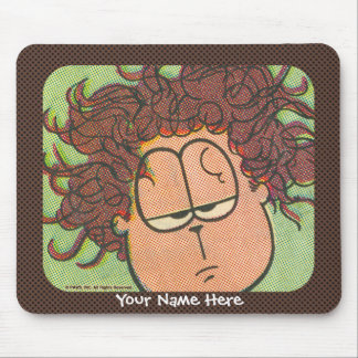 Jon's Bad Hair Day mousepad