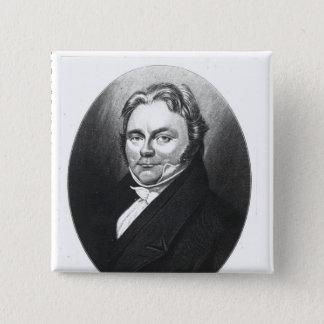 Jons Jakob Berzelius 15 Cm Square Badge