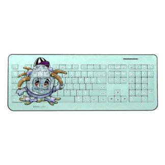 JONY PITTY ALIEN  Custom Wireless Keyboard