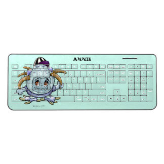 JONY PITTY ALIEN  Custom Wireless Keyboard 2