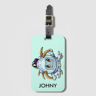 JONY PITTY ALIEN Luggage Tag with Business Card