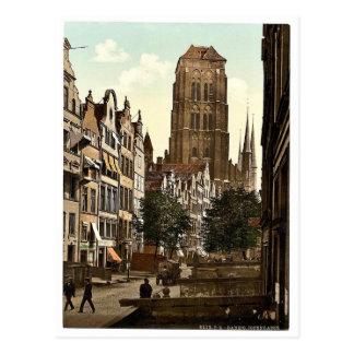Jopengasse, Danzig, West Prussia, Germany (i.e., G Postcard