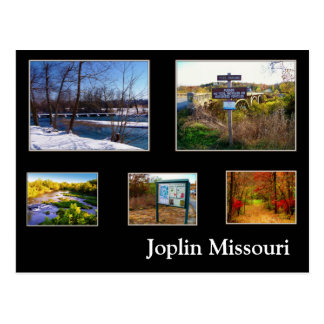 Joplin Missouri Shoal Creek Postcard