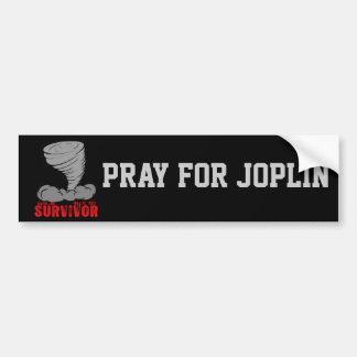 Joplin Missouri Tornado Survivor Bumper Sticker