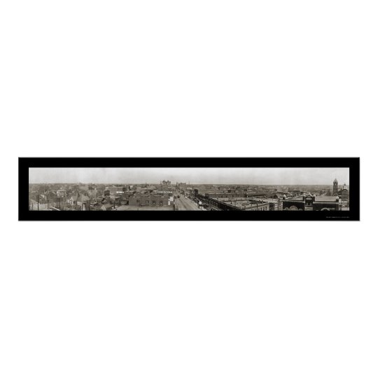 Joplin, MO Photo 1910 Poster