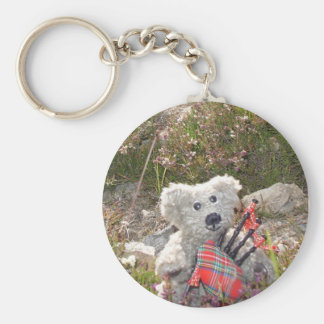 Joral in Scotland Basic Round Button Key Ring