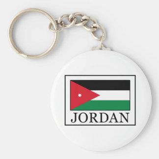Jordan Basic Round Button Key Ring