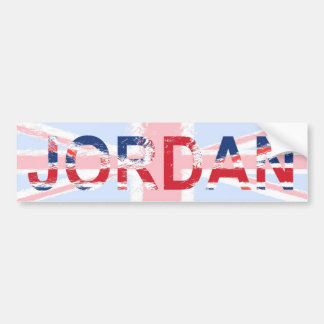 Jordan Bumper Sticker