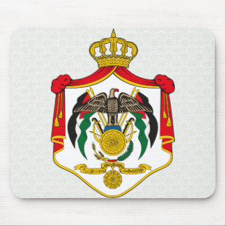 Jordan Coat of Arms detail Mouse Mat