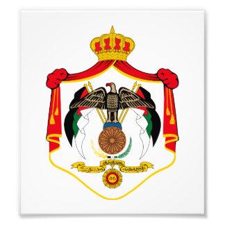 Jordan Coat Of Arms Photo Art