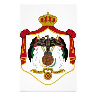 Jordan Coat of Arms Custom Stationery