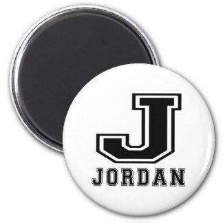 Jordan Designs 6 Cm Round Magnet