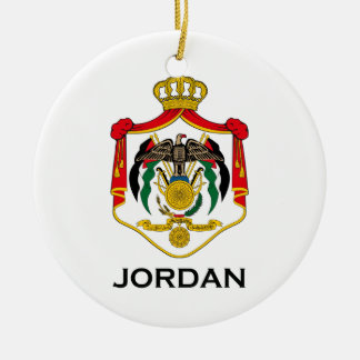 JORDAN - emblem/flag/coat of arms/symbol Christmas Ornament