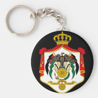 jordan emblem basic round button key ring