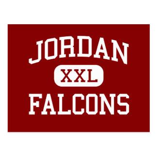 Jordan - Falcons - High - Durham North Carolina Postcards
