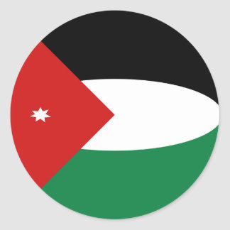 Jordan Fisheye Flag Sticker