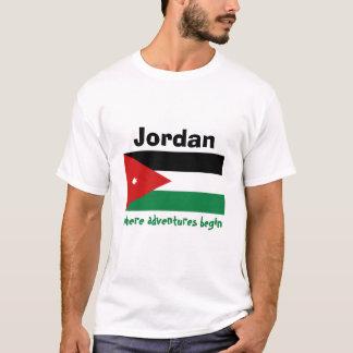 Jordan Flag + Map + Text T-Shirt