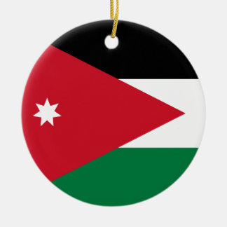 Jordan Flag Ornament