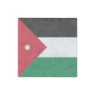Jordan Flag Stone Magnet