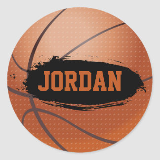 Jordan Grunge Basketball Stickers