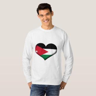 Jordan Heart Flag T-Shirt