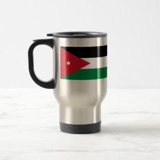 Jordan, Jersey flag Travel Mug