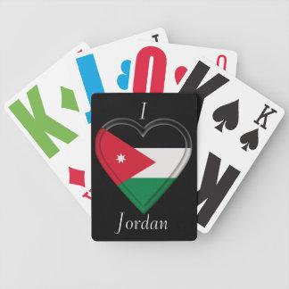 Jordan Jordanian flag Bicycle Playing Cards