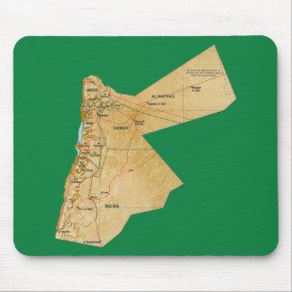 Jordan Map Mousepad