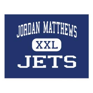 Jordan Matthews - Jets - High - Siler City Post Card