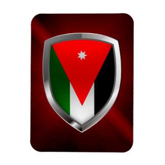 Jordan Metallic Emblem Magnet
