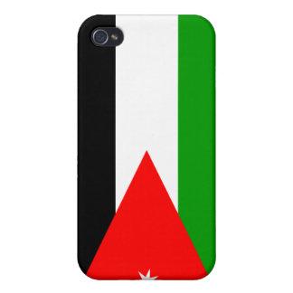 Jordan National Nation Flag Cover For iPhone 4