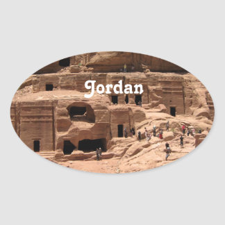 Jordan Oval Sticker